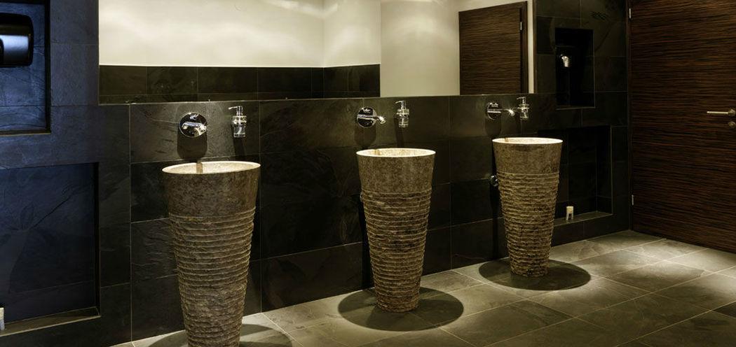Beispiel: Waschräume, Foto: Nordlicht Events.