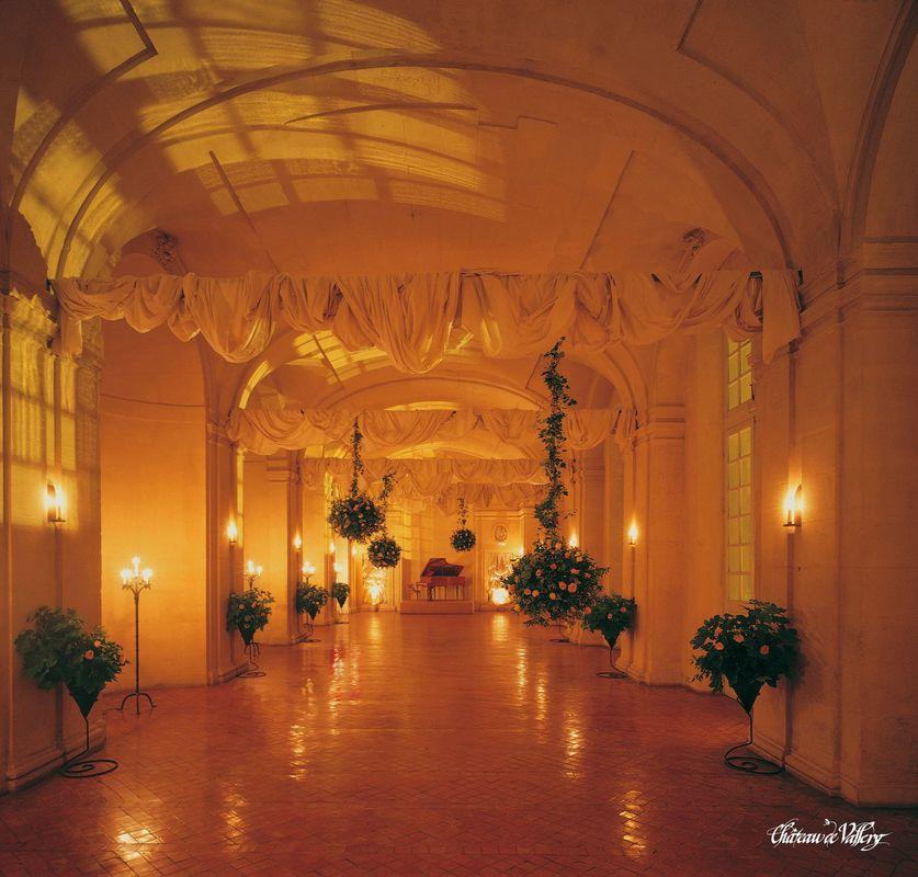 Grande Galerie - Château de Vallery
