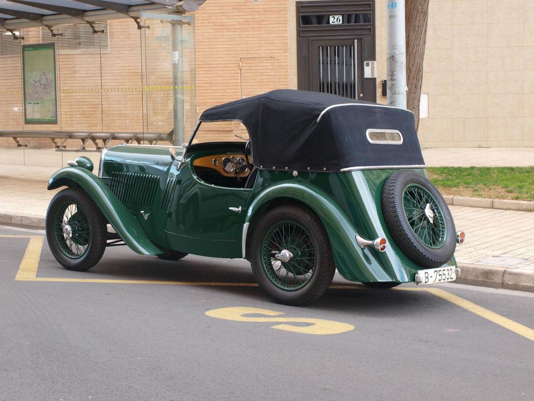 SINGER 9 Sports de 1933 (Levante)