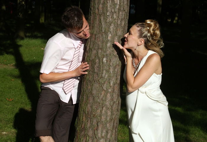 Beispiel: Brautpaar, Foto: Hofgut Elchenreute.