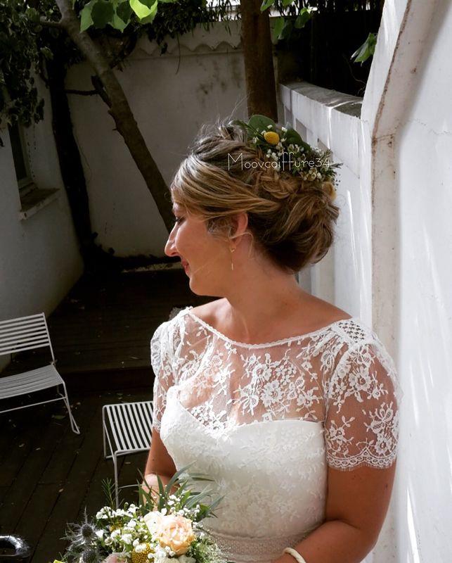 chignon-bohème-mariage