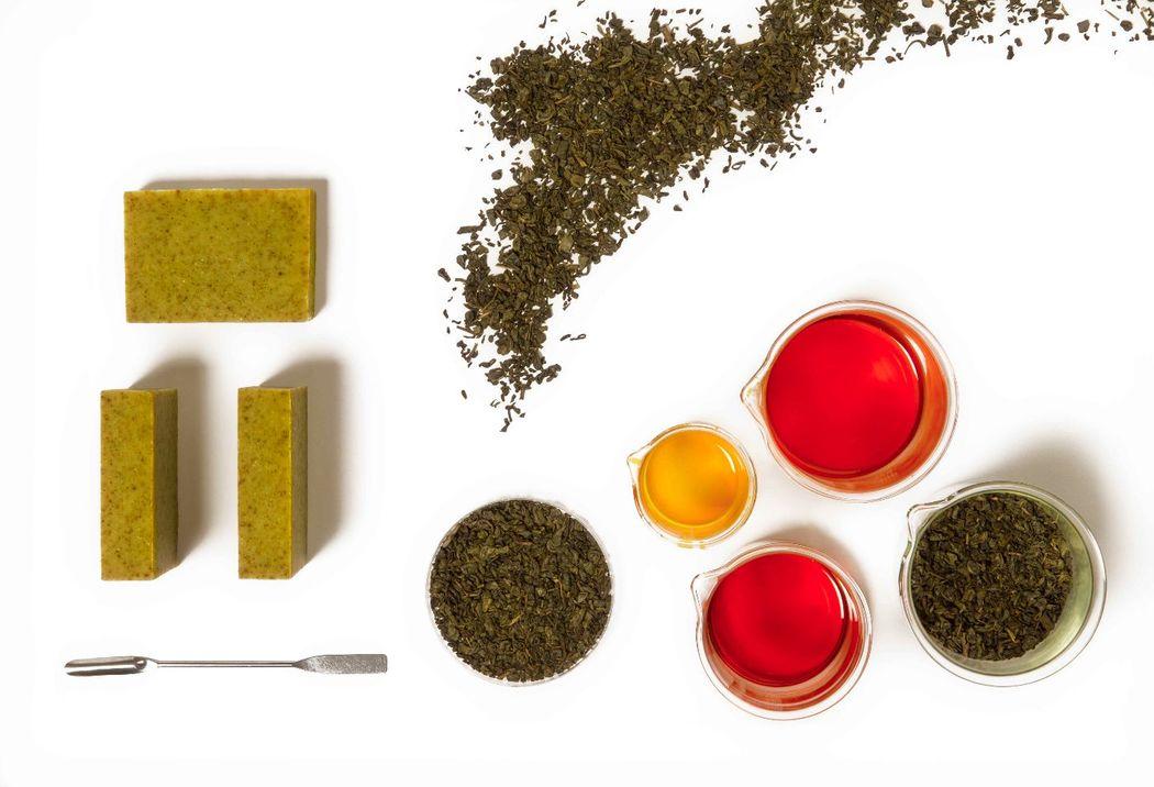 Greeny Soap - té verde & aceite de aguacate
