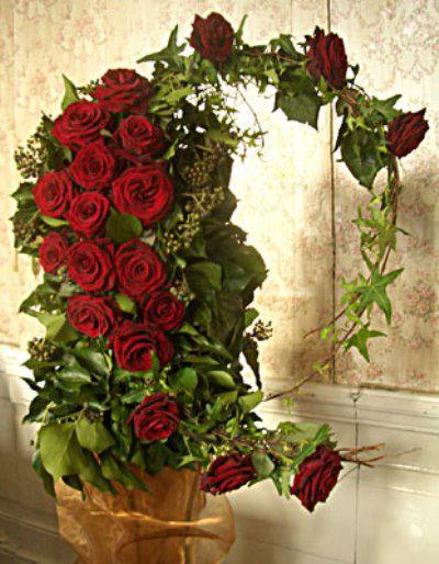 Beispiel: Hochzeitsfloristik, Foto: Blumen Leitgeb-Hitzler.