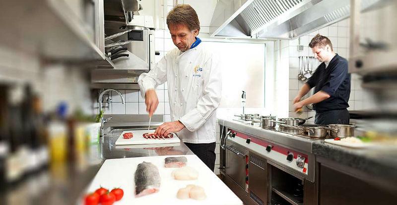 Beispiel: Küche, Foto: Dobler's Restaurant.
