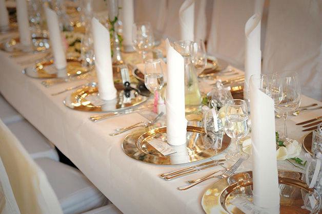 Beispiel: Tischdekoration, Foto: Schloss Rapperswil.