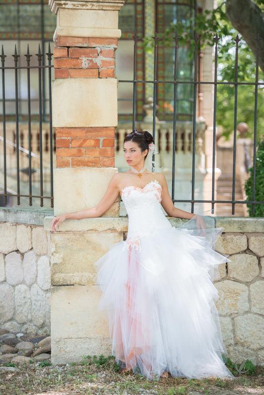 robe ARDEUR - collection Mariées de Provence 2017