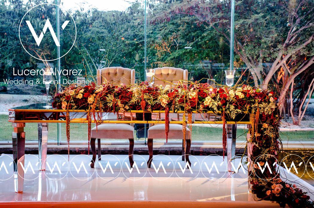Lucero Alvarez Wedding & Event Designer