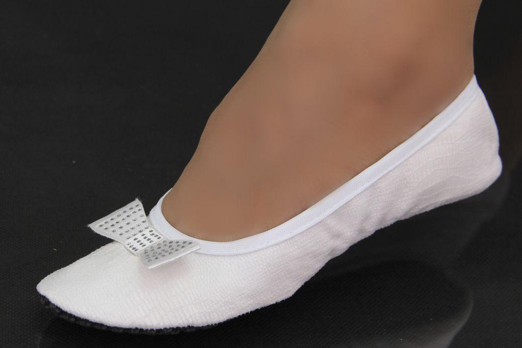 Série Premium Branco Craquelê com Laço Clássico Branco