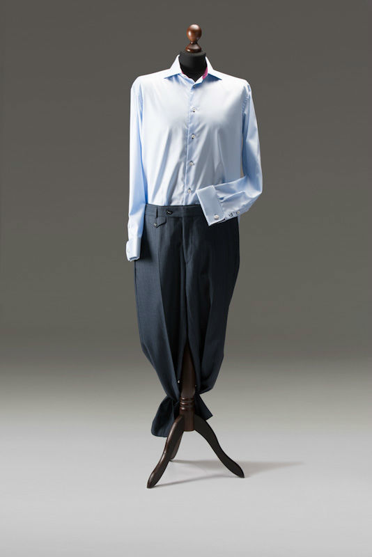 Beispiel: Hemden und Hosen, Foto: Tricia Ze.