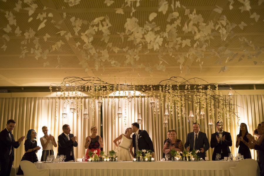 A nossa Mesa dos noivos ....