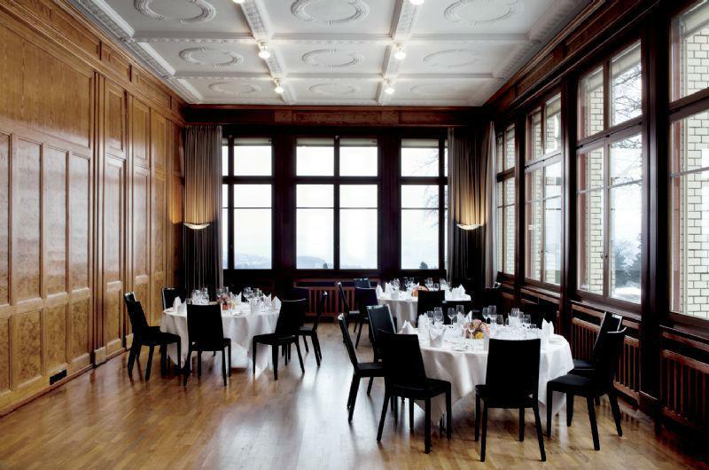 Beispiel: Hochzeitsgedecke, Foto: Sorell Hotel Zürichberg.