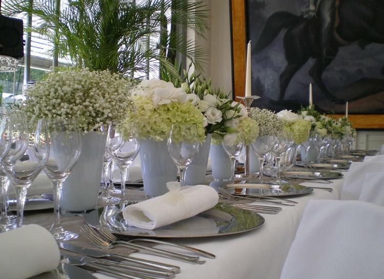 Beispiel: Tischdekoration, Foto: Naturelle Floristik.