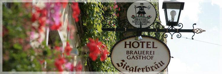 Beispiel: Außenansicht, Foto: Altstadt-Hotel Zieglerbräu.