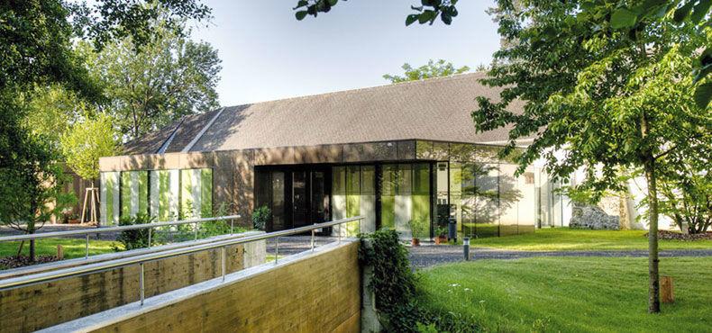 Beispiel: Kombination aus Tradition und Moderne, Foto: Schloss Lackenbach.