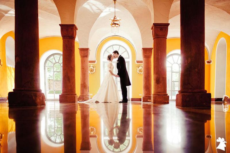 Beispiel: Portrait des Brautpaares, Foto: Alexander Hahn Emotional Photography.