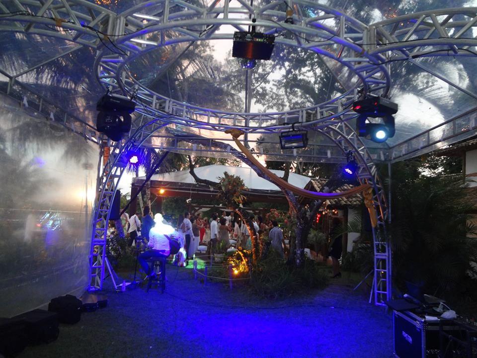Estrutura - Pista de dança - Casas da Lia - Trancoso
