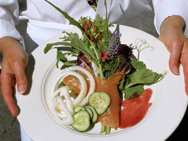 Beispiel: Kulinarische Genüsse, Foto: Jonas PartyService.