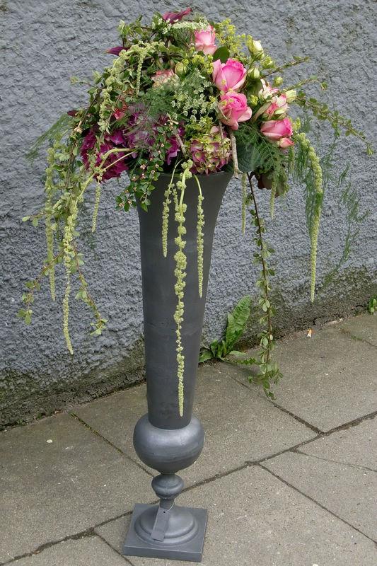 Beispiel: Raumdekoration, Foto: Blumen Loos.