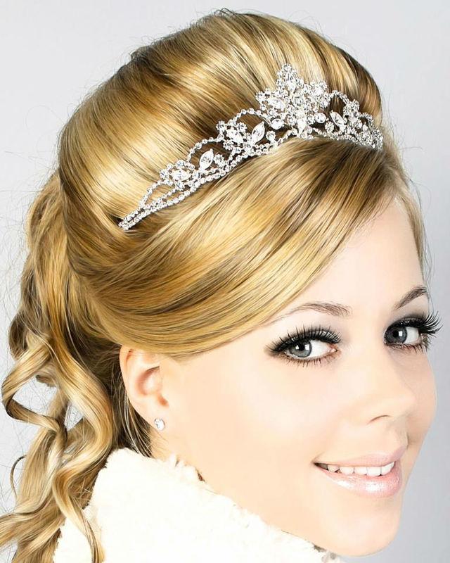 Beispiel: Frisur und Make-up zur Hochzeit, Foto: Beauty Experience.