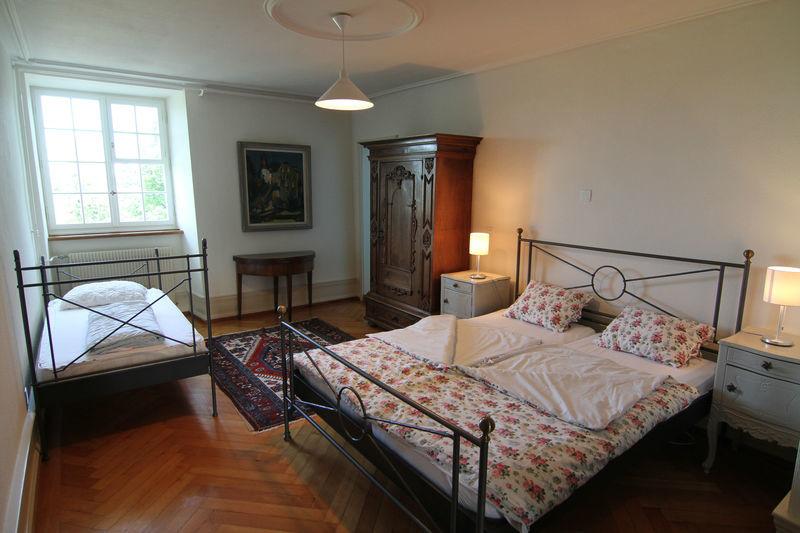 Beispiel: Zimmer im Schloss, Foto: Schloss Heidegg.