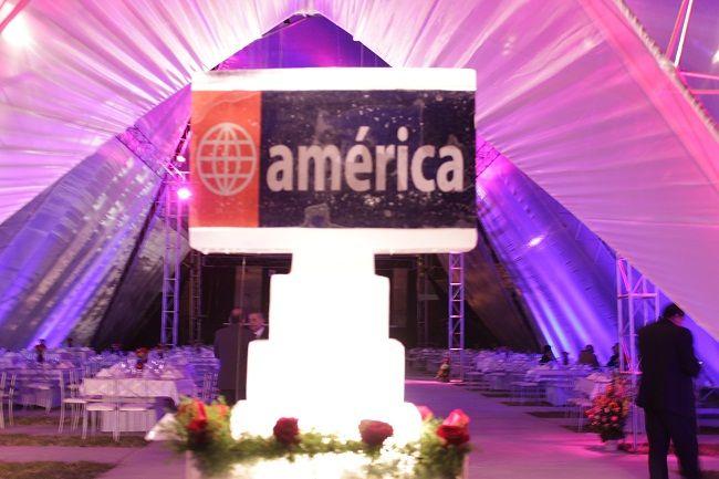 Logotipo  de  América  Television