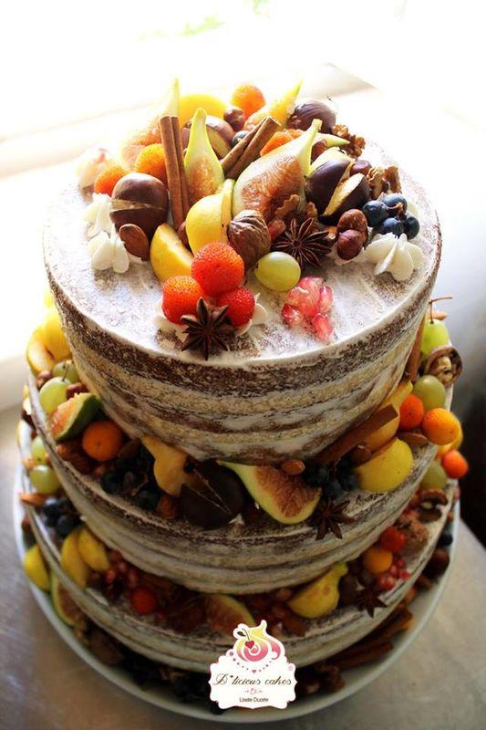 Naked cake Outono