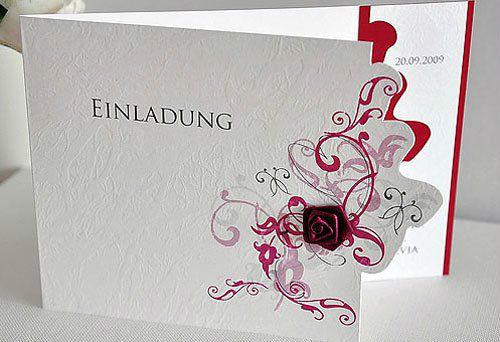 Beispiel: Geschmackvolle Hochzeitseinladungen, Foto: BBFT-Atelier Manufaktur.