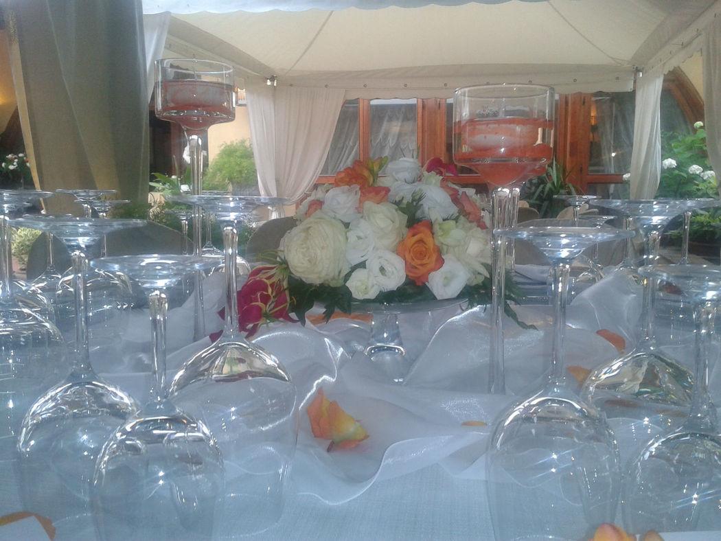Allestimento tavola ricevimenti nuziali - La Buona Tavola Catering&Banqueting Firenze