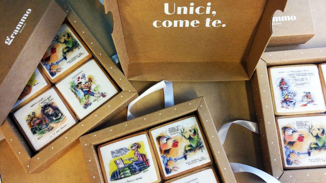 Grammo Milano regali per i testimoni