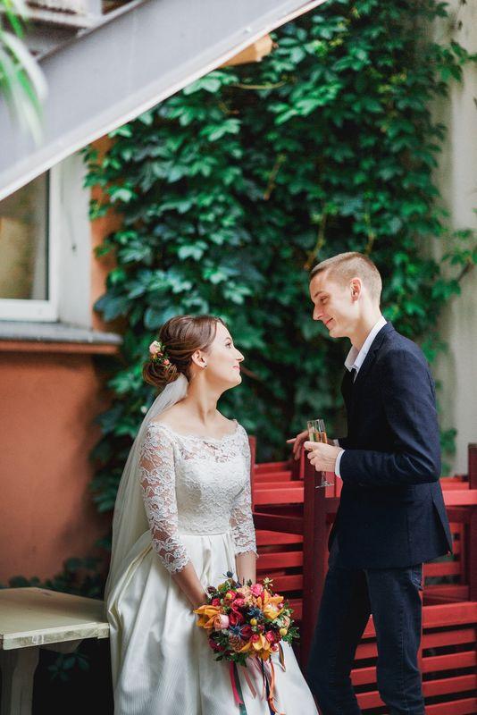 Саша и Катя Свадебный координатор Ксения Павлоградская