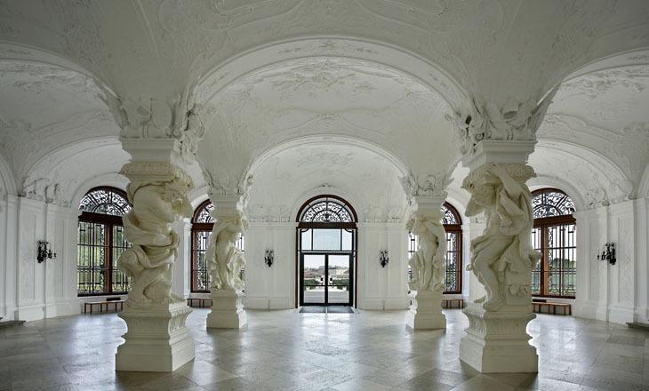 Beispiel: Sala Terrena, Foto: Festung Hohensalzburg.
