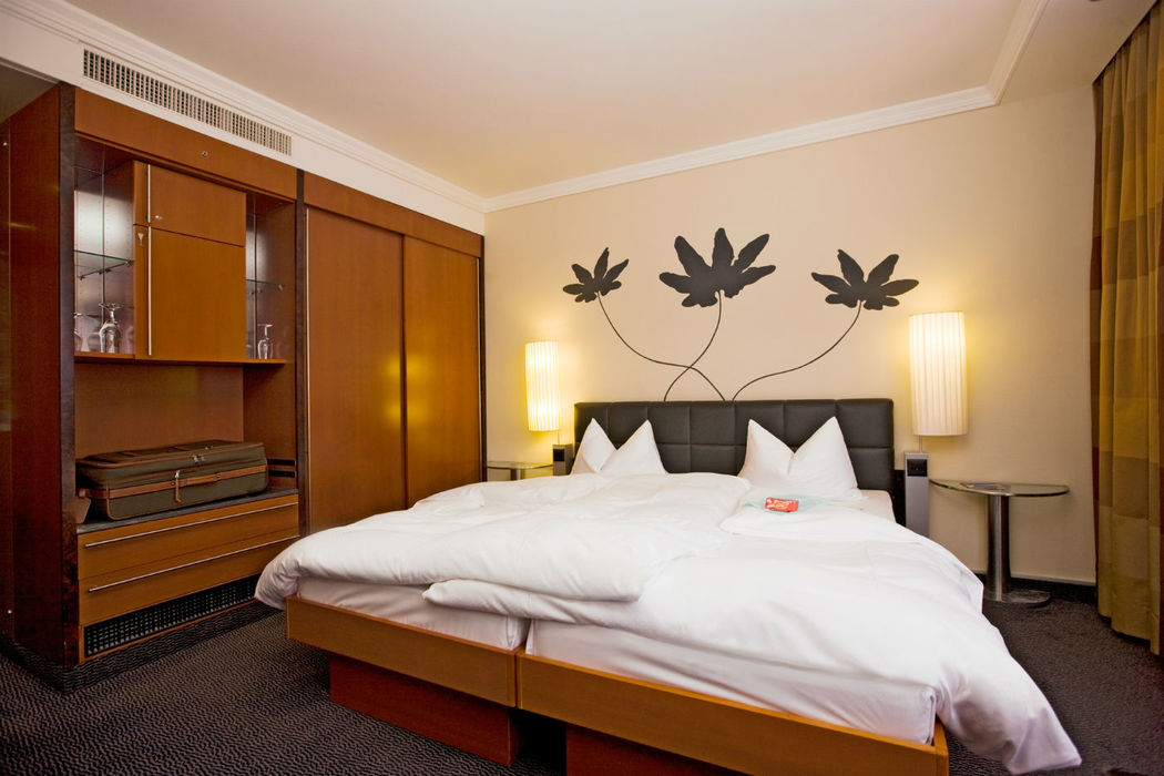 Beispiel: Hotelzimmer, Foto: Hotel Basel.