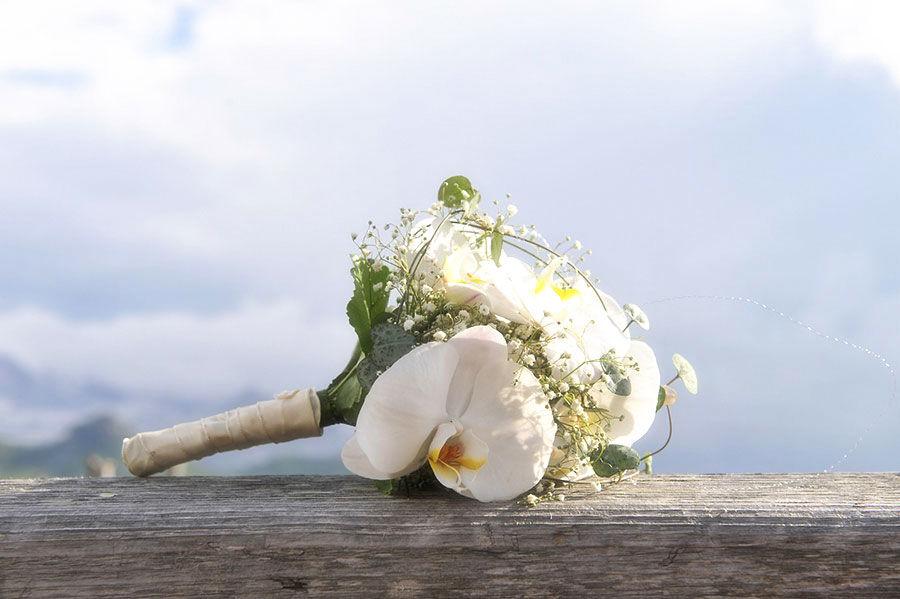 Beispiel: Hochzeitsfloristik, Foto: Jane4wedding.