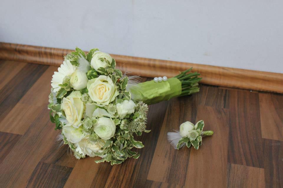 Beispiel: Hochzeitsfloristik, Foto: Herbig Wedding.
