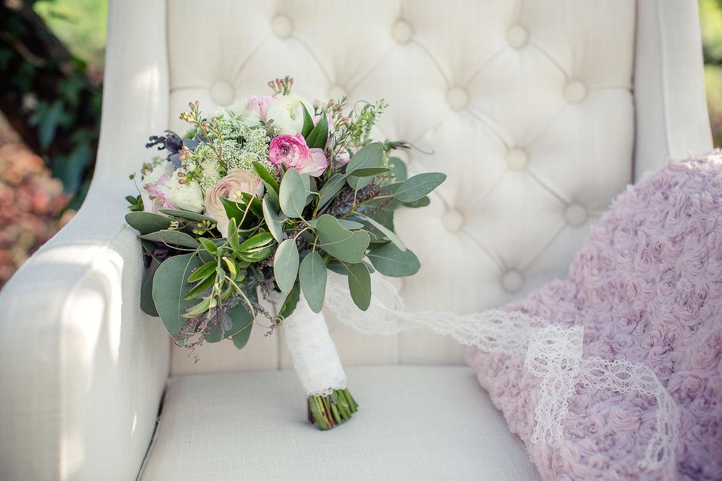 Au Jardin d'Egly- Bouquet de mariée bohème  succulentes