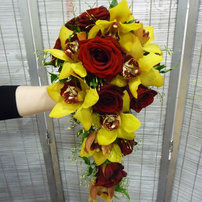 Beispiel: Individuelle Brautsträuße, Foto: Blumenhaus Frei.