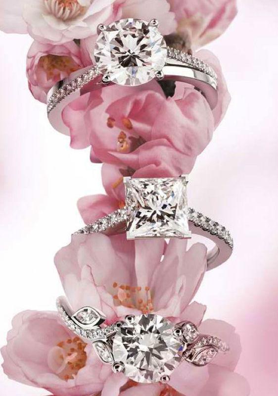Beispiel: Wunderschöne Verlobungsringe, Foto: Juwelier Pichler.