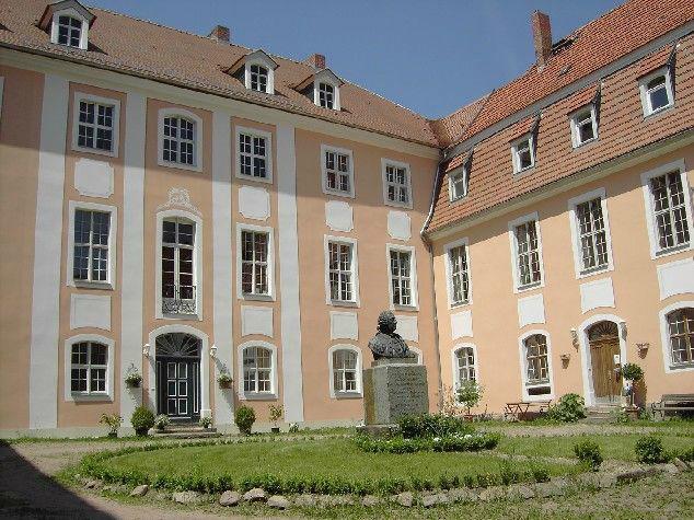 Innenhof, Foto: Schloss Reichstädt