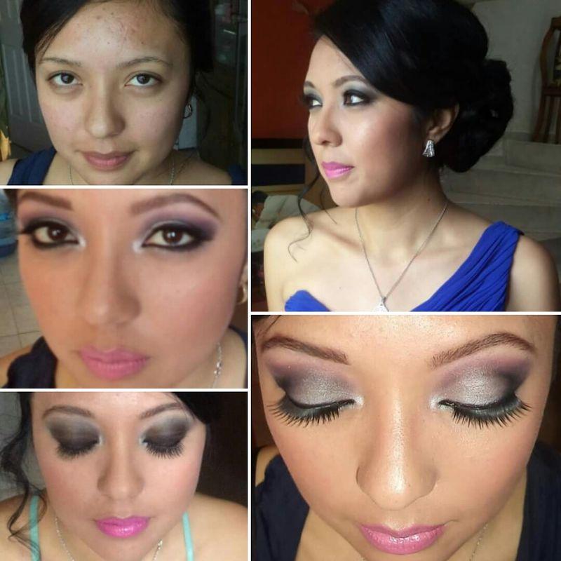 Maquillaje HD familiares y Damas