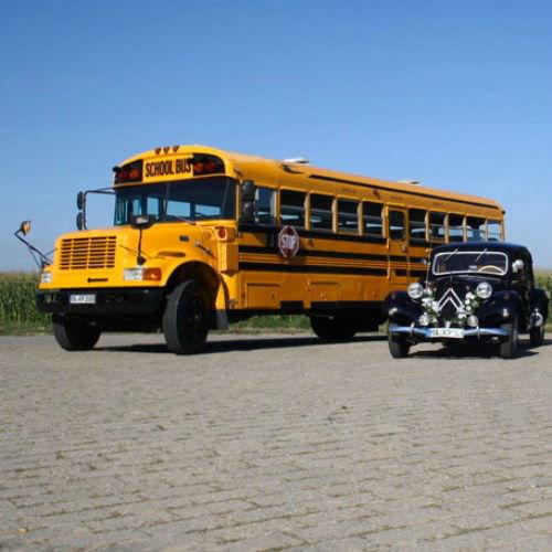Beispiel: Amerikanischer Schulbus, Foto: Bel Ami Oldtimergarage.