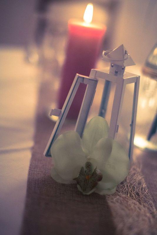 Dentelle et Cravate Noire  - Décoration de table Anniversaire