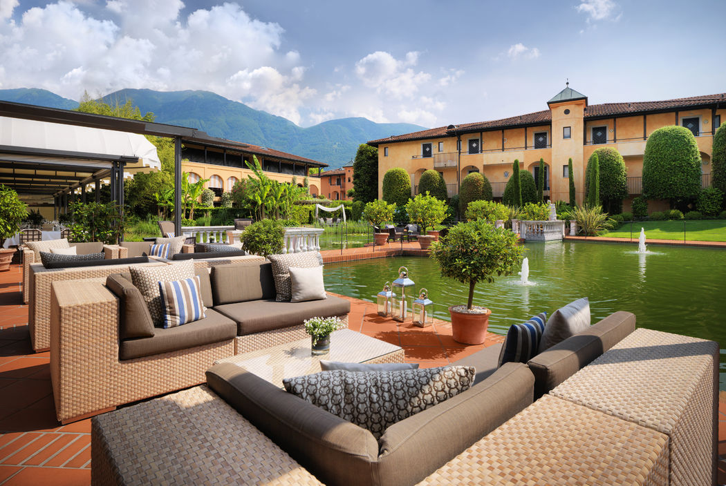 Giardino Ascona, Terrace