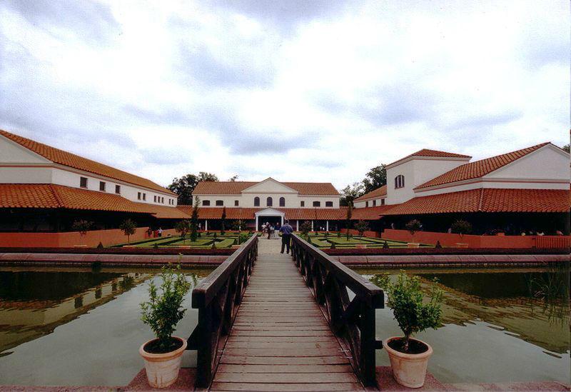 Beispiel: Gartenanlage, Foto: Villa Borg.