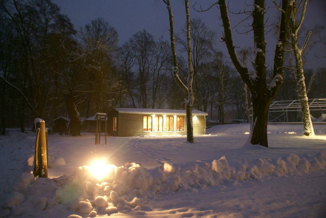 Beispiel: Außenbereich im Winter, Foto: Teamgeist Yachtclub.