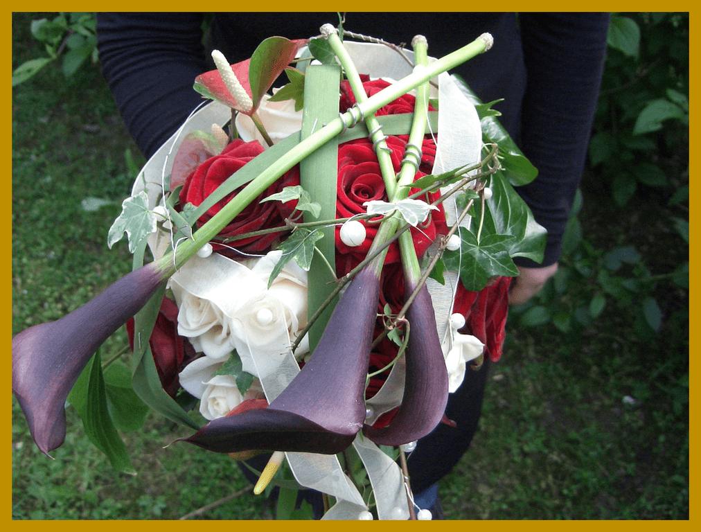 Beispiel: Brautstrauß, Foto: Die Blumen-Lounge Göllner.