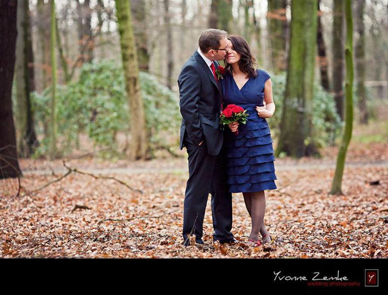 Beispiel: Hochzeitsfotos von Profi, Foto: Yvonne Zemke wedding photography.