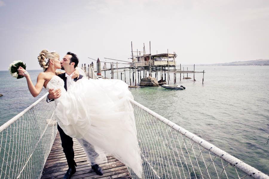 Trabocco, Vasto Fotografo matrimonio Milano Click E Chic