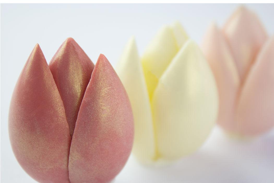 Tulipas Trufadas: mini esculturas para serem apreciadas e degustadas!