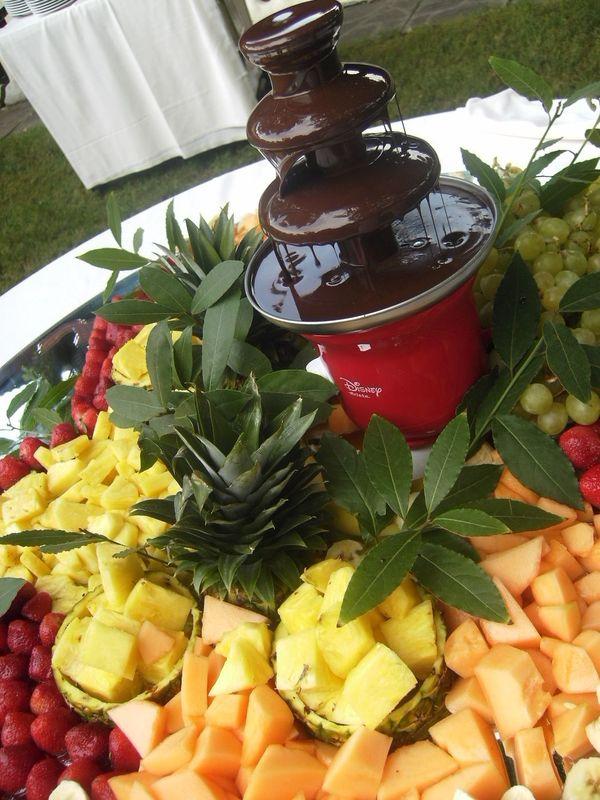 Cascata di cioccolato