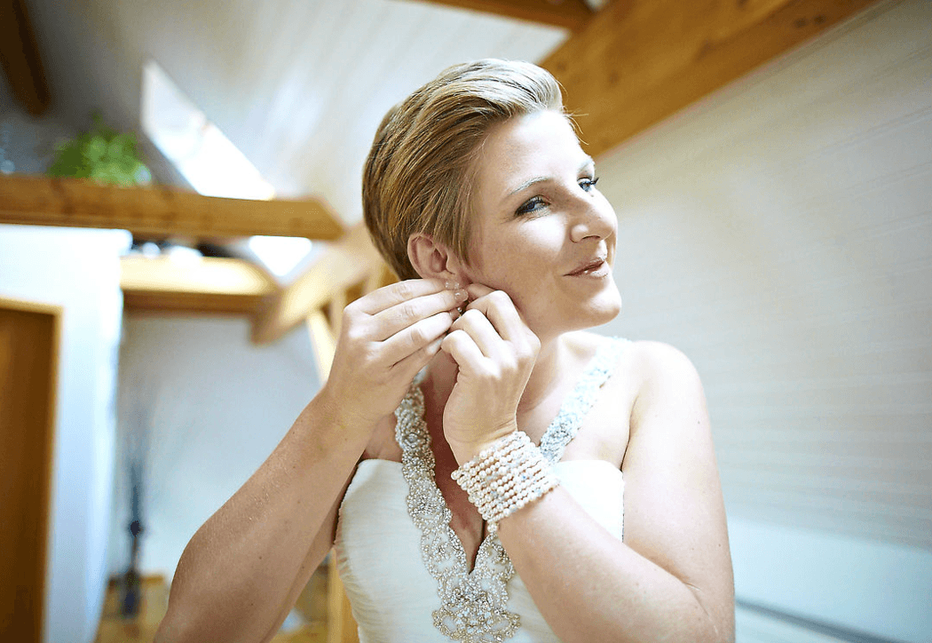 Beispiel: Make-up, Foto: Kloc Make-up.